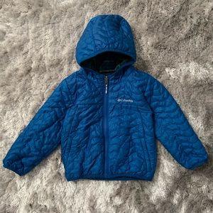 Columbia Reversible Toddler Lite Hooded Jacket